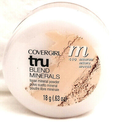 One (1) CoverGirl TruBlend Minerals Loose Mineral Powder, Choose Your - Cover Girl Loose Powder