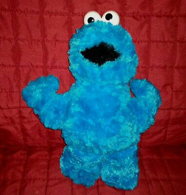 Gund Sesame Street COOKIE MONSTER Shaggy 12in Soft Plush Doll The Muppets - Hello Kitty Halloween Cookies