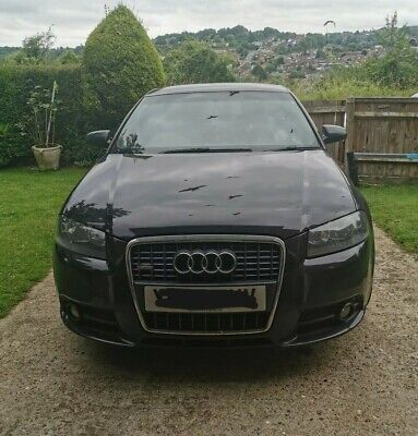 Audi A3 2.0 TDI S-line Diesel Quattro 2006 Running Spares Repair NO TIME WASTERS