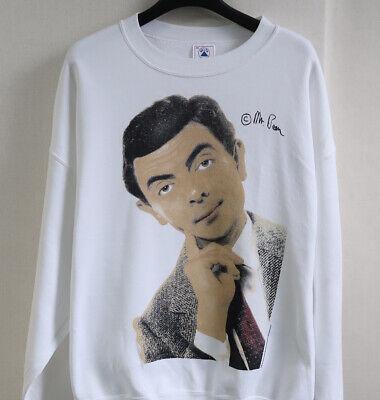 vintage 90s MR BEAN Single Stitch movie T-Shirt L 1996 USA DELAT sweat t shirt