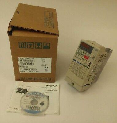 Yaskawa Electric Cimr-v7am20p41 Cimr-v7am20p4 Gpd315v7 200230v 3.9a 12hp 3ph