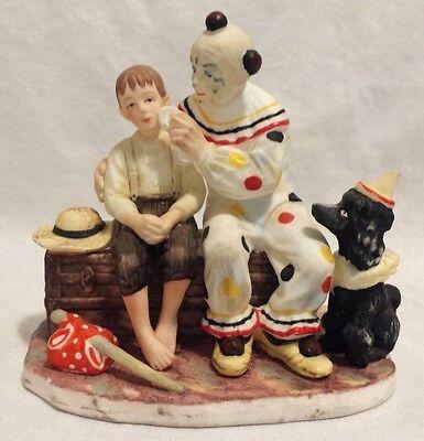 "Norman Rockwell Figurine ""The Runaway"" Gift of Gorham 1920 EUC"