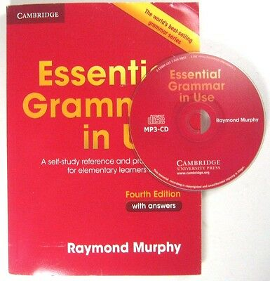 ESSENTIAL GRAMMAR IN USE FOR ELEMENTARY CAMBRIDGE RAYMOND WITH MP3 CD , ANSWERS