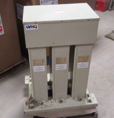 "ABB FIXED CAPACITOR BANK ""LVNQ"" 240 KVAR 480 VAC 3 PHASE 60 Hz  MODEL: F488G240"