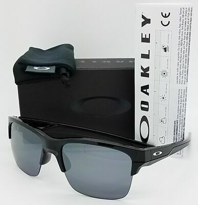 NEW Oakley Thinlink sunglasses Black BLK Iridium 9316-03 Thin AUTHENTIC rimless