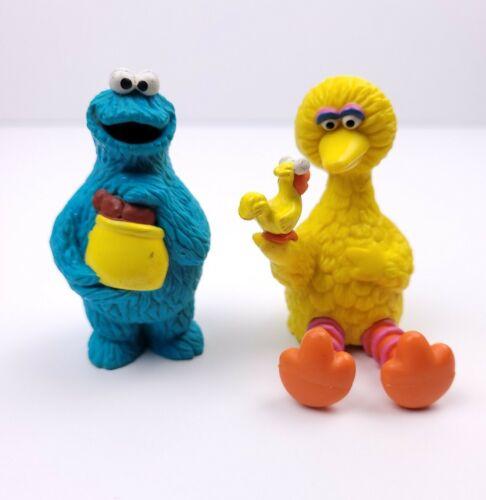 "Applause Muppets Sesame Street Big Bird & Cookie Monster Small Figures 2.5"""
