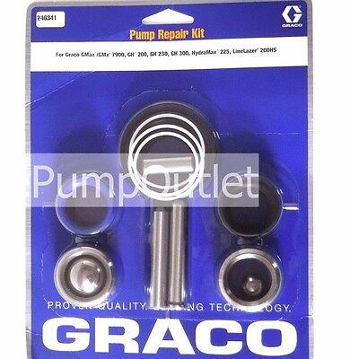Graco 246341 Pump Repair Kit Gmax 7900 Hydramax 225 Linelazer 200hs Gh200
