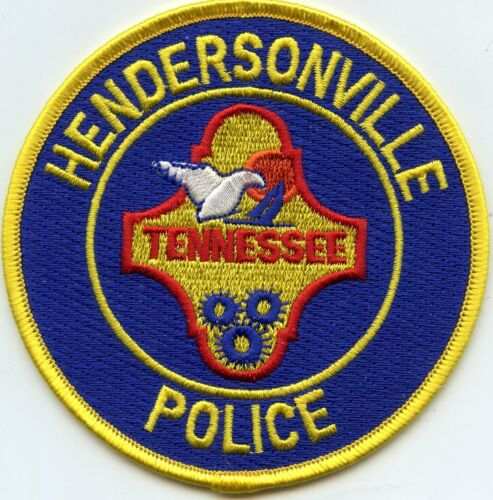 HENDERSONVILLE TENNESSEE TN POLICE PATCH