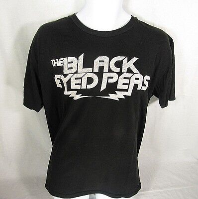 The Black Eyed Peas XL T-Shirt Unisex Black The E.N.D. Short Sleeve