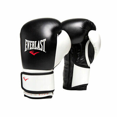 Everlast 16 Oz Pro Style Elite Cardio Kickboxing & Boxing Training Gloves, Black