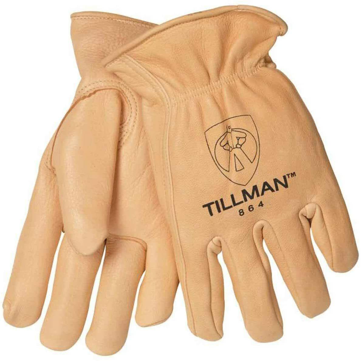 Tillman 864 Premium Unlined Top Grain Deerskin Drivers Gloves Various Sizes Business & Industrial