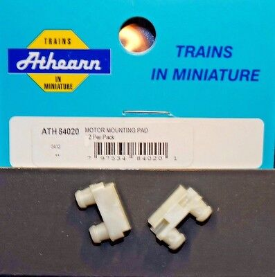 Quantity (2) Athearn #ATH84020 -Locomotive Motor Mounting Pads -New Repair Part*