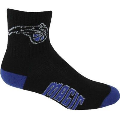 - NEW Pair Orlando Magic NBA Mens Large Team Color Socks Fits 10-13 Quarter