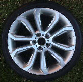 1x Ford Falcon FG Mk2 XR6 rim alloy wheel 19 inch ALPINE SILVER Epping Whittlesea Area Preview