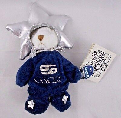 "Ganz Wee Bear Village Astrological Bears Cancer 5"" Stuffed Animal"