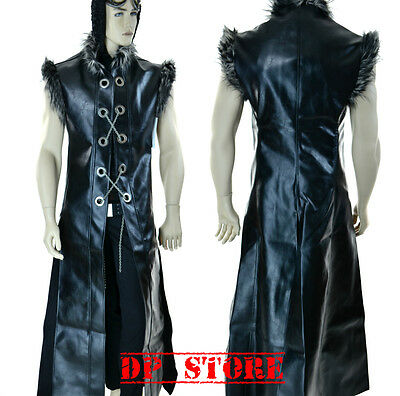 SHRINE WARRIOR GOTHIC VAMPIRE GOTH UNDERWORLD PIRAT COAT JACKET VINYL GLADIATOR Clothing, Shoes & Accessories