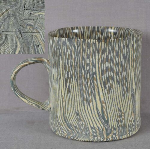 Japanese NERIAGE ceramic handled CUP marked