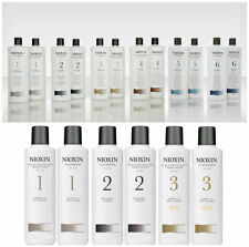 Nioxin Hair Thinning Loss System Cleanser Conditioner 1 2 3 4 5 6  300 / 1000 ml