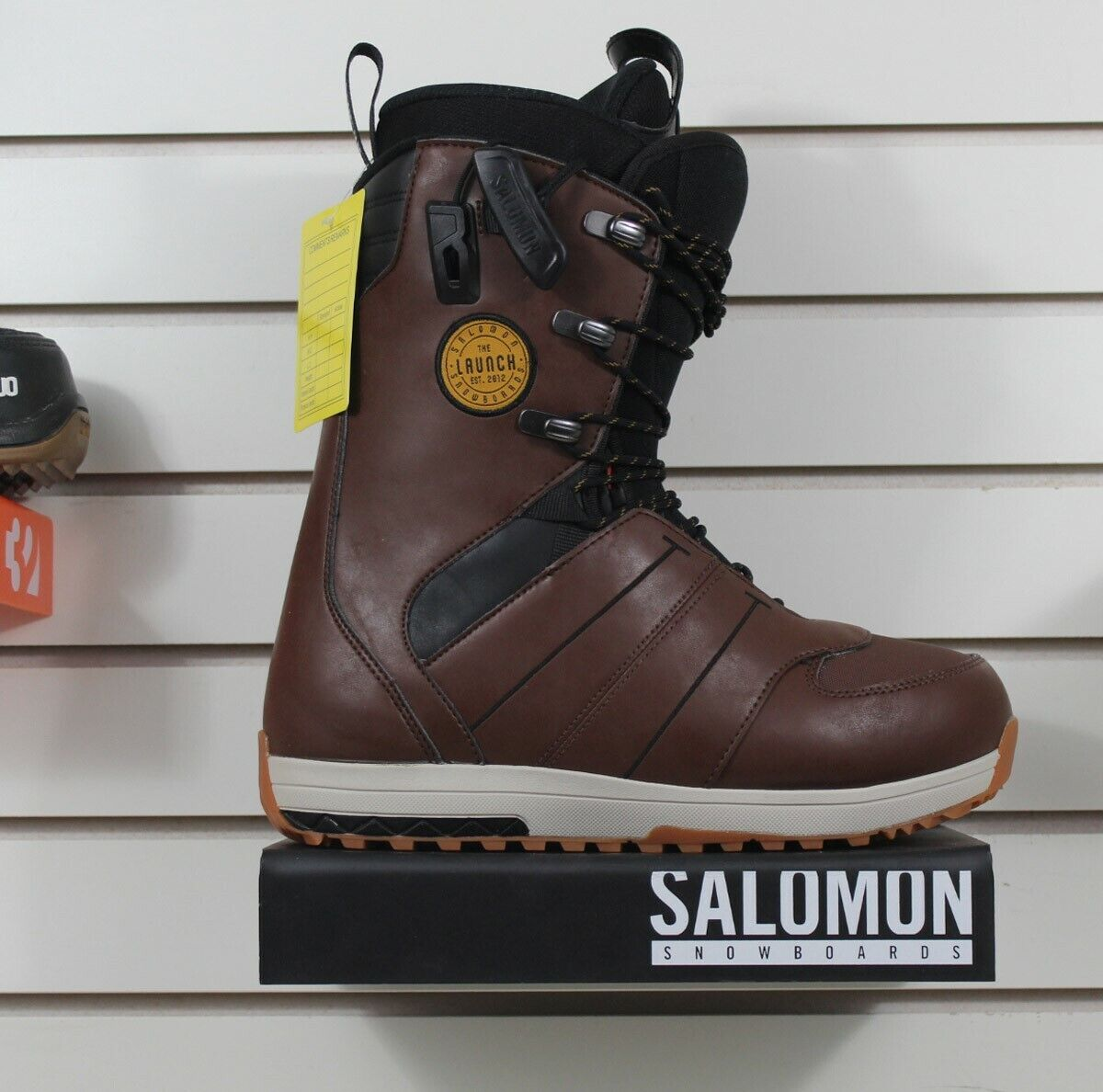 New 2018 Salomon Launch Lace Snowboard Boots Mens Size 9.5 B