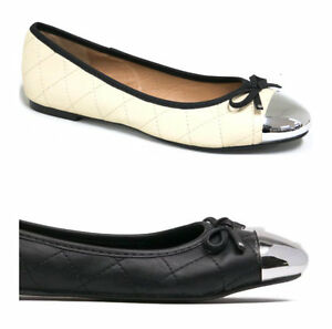 NEW-59-I-LOVE-BILLY-Forevers-Womens-Ballet-Flats-Black-or-Cream-Ivory-Shoes