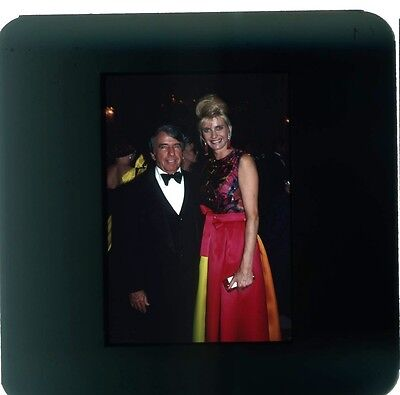 35Mm Photo Slide Ivana Trump At Formal Party