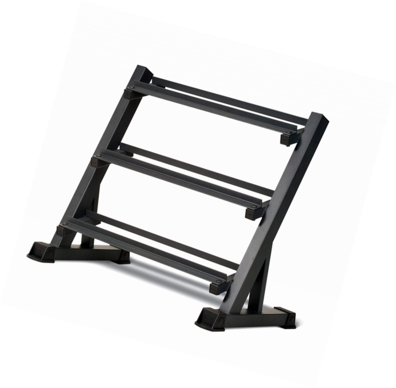 3-Tier Dumbbell Rack, Multilevel Weight Storage Organizer, S
