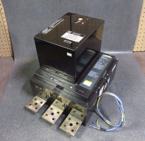 Square D Circuit Breaker 2000 Amp 500 Vdc 3 Pole & Pam02 Operator # Paf362000dc