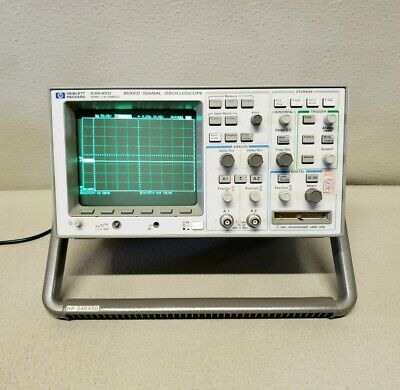Agilent Hp 54645d 100mhz 216ch Mixed Signal Oscilloscope Hp-ib Interface3120