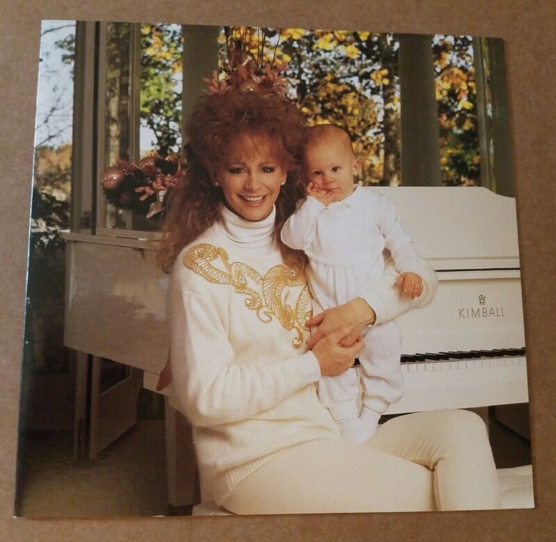 Reba McEntire Christmas Card With Baby Shelby Beautiful And Mint