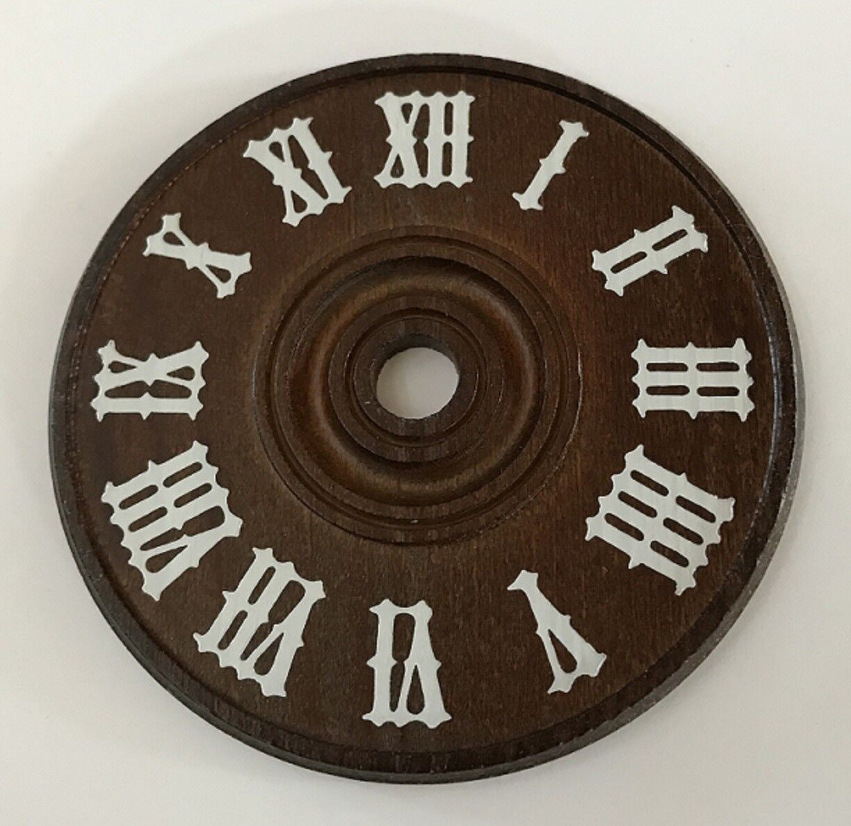 """Cuckoo Clock Numeral Set Numbers White Plastic 9//16/"""" 14 mm Height Dial Part"""