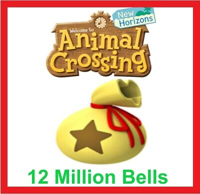 Animal Crossing New Horizons 12 Million Bells INSTANT ACCESS! ACNH - ONLINE NOW