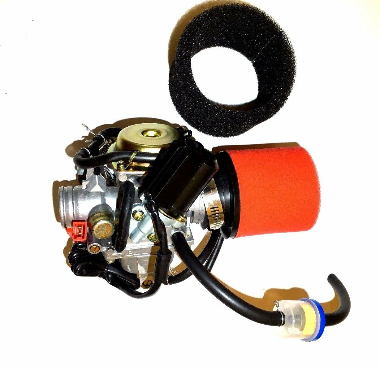 PERFORMANCE CARBURETOR W/ 2 STAGE FILTER HAMMERHEAD TWISTER 150 150CC GO KART