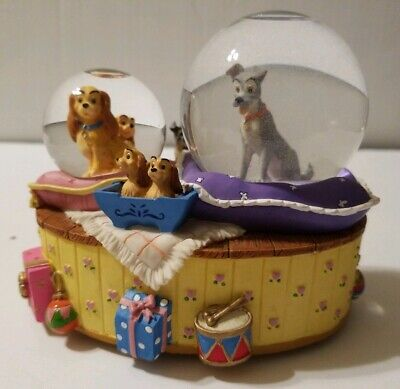 Disney Classics Lady And The Tramp Double Musical Waterball
