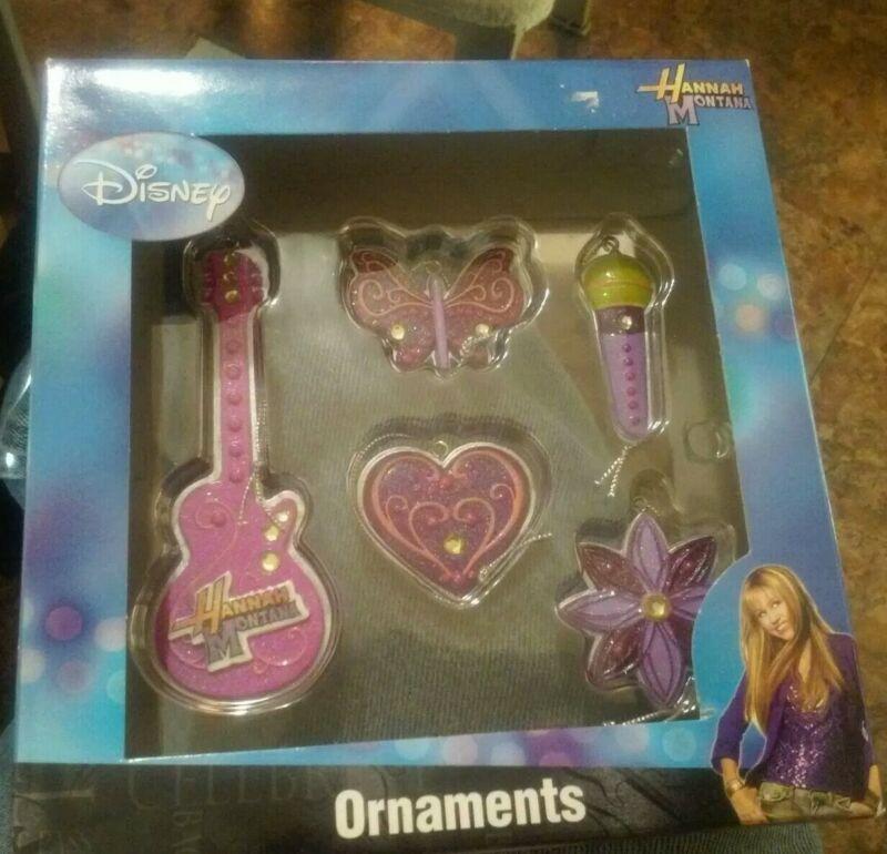 Hannah montana christmas ornaments ..new