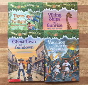 4 Magic Treehouse Chapter Books (Paperbacks)