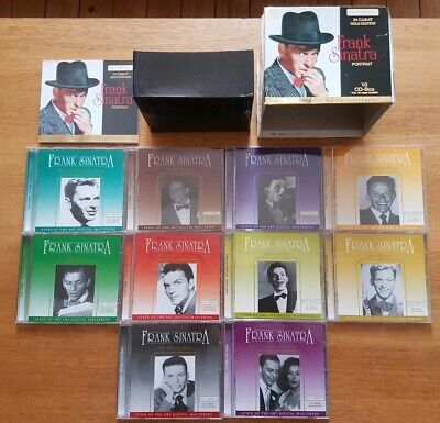 Frank Sinatra – Portrait - 24 Carat Gold Edition (German 10 CD Box Set)