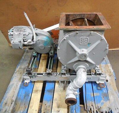 Superior Separator 12x12 Rotary Airlock Feeder Valve Ss58q258 34hp 220440v