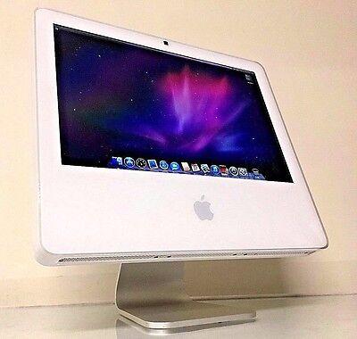 """Apple iMac A1195 17"""" All in One Desktop 1GB RAM 160GB HD Intel Core2 Duo"""