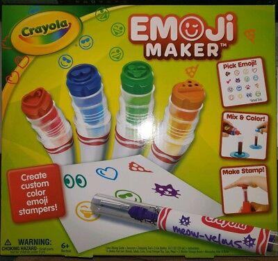 Crayola Stamp Markers (Crayola Emoji Maker, Stamp Marker Maker - Ages)