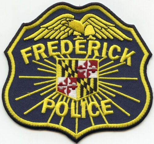 FREDERICK MARYLAND MD POLICE PATCH