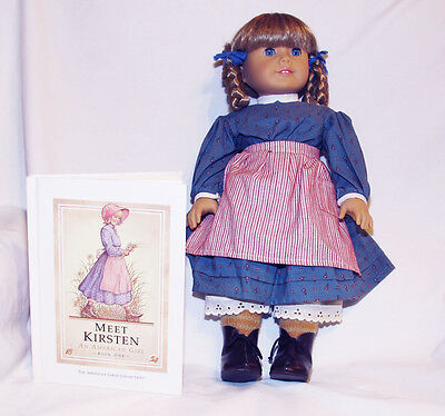 American Girl Kirsten Doll Pleasant Company And Book Retired