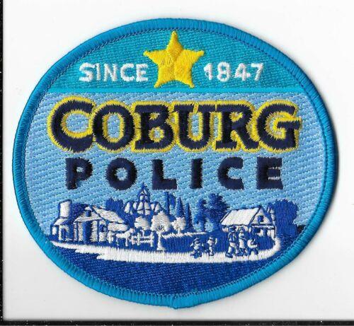 Coburg Police Department, Oregon Shoulder Patch