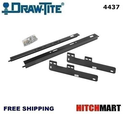 UNDER BED MOUNTING RAIL KIT FOR UNDER / ABOVE-BED GOOSENECK TRAILER HITCH 4437