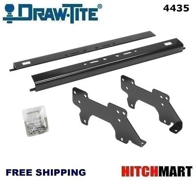 UNDER BED MOUNTING RAIL KIT FOR UNDER / ABOVE-BED GOOSENECK TRAILER HITCH 4435