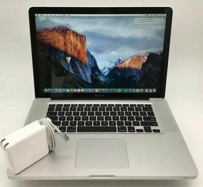 "15"" Apple MacBook Pro 5,1 - Intel C2D @ 2.40GHz 4GB RAM 320GB HDD - MB470LL/A +"