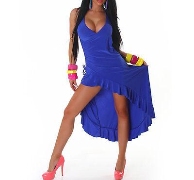 Neckkleid Latin Latinkleid Kleid schwarz rot blau 36 - Sexy Salsa Kleid