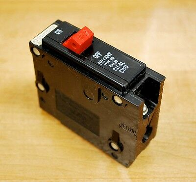 Bryant Br120 1pole 20amp Type Br Plug-in Circuit Breakers - Used