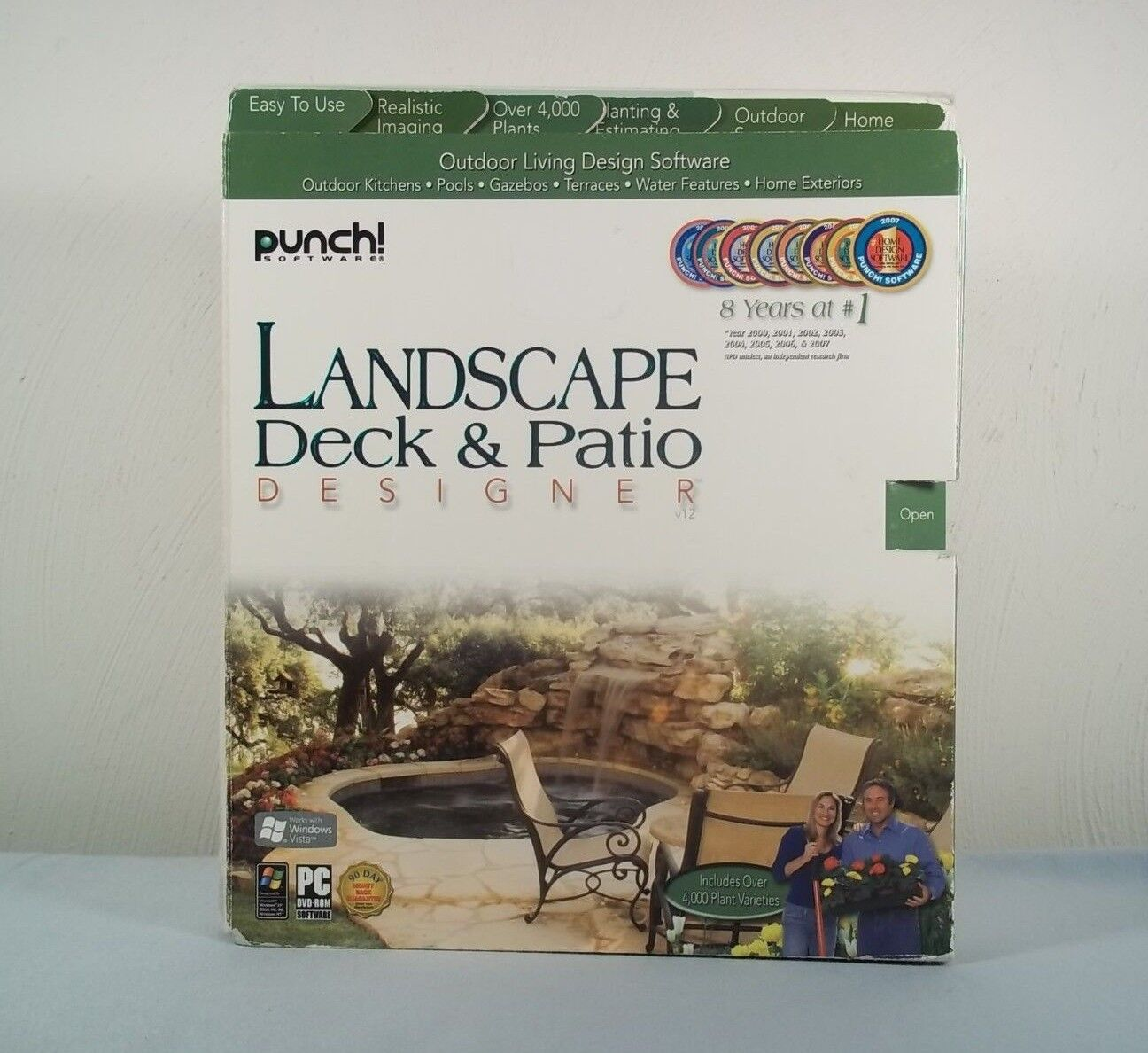 Punch Landscape Deck Patio Designer 12