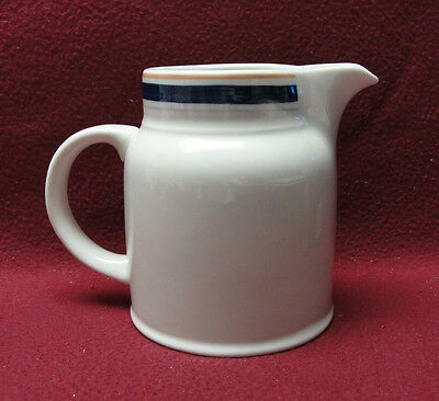Royal Doulton China   Designs Ala Carte Blue Line Pattern   Creamer   Pitcher