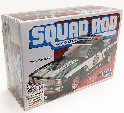 MPC 851 1979 Chevy Nova Squad Rod Police Car plastic model kit 1/25